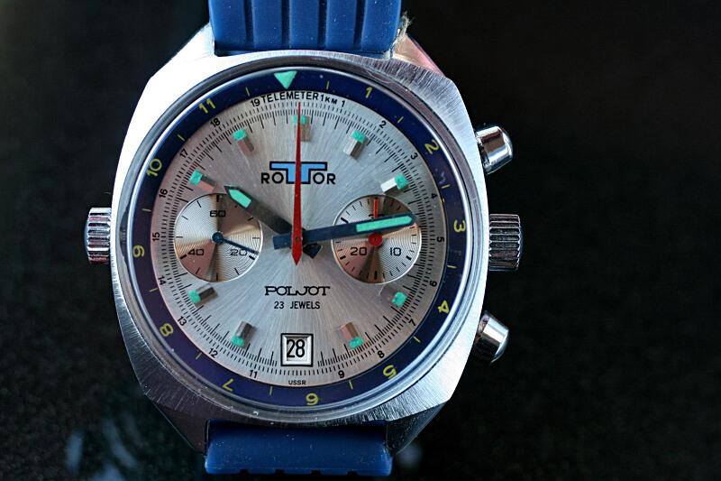 Poljot chronogaf Rottor 1m8