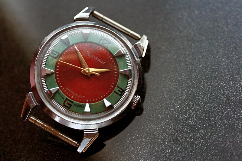 Kirowski krab czerwono zielony 1m8