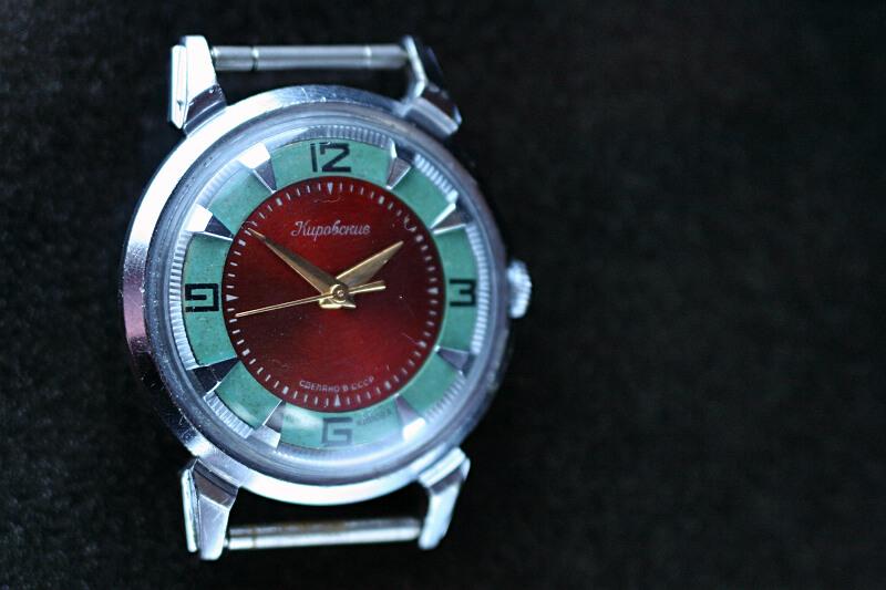 Kirowski krab czerwono zielony 2m8