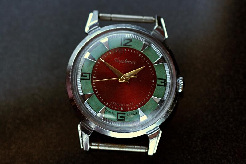 Kirowski krab czerwono zielony 3m8