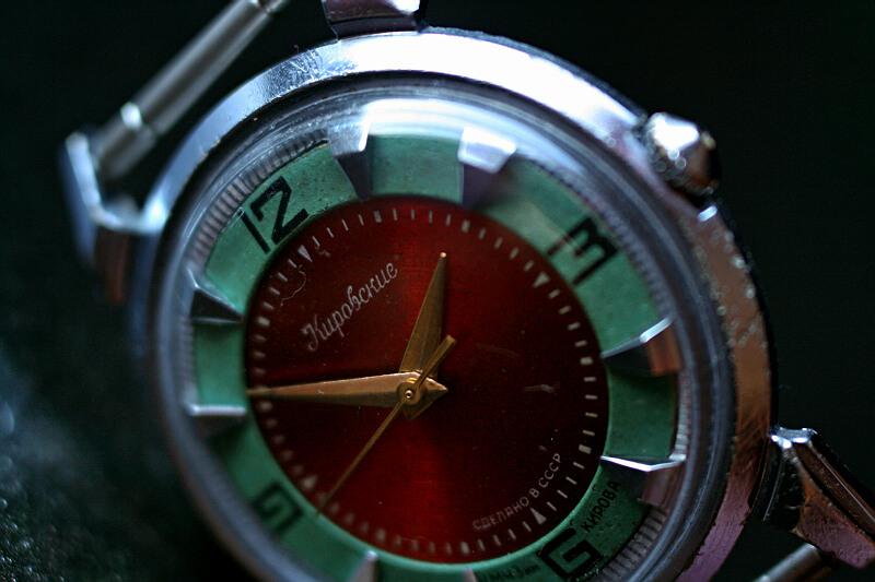 Kirowski krab czerwono zielony 6m8