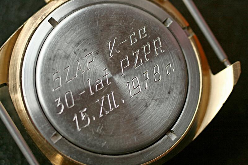 Poljot Au 17 czerw tarcza 8m8