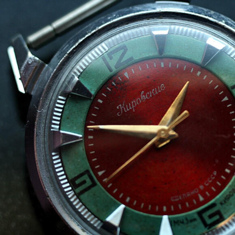 Kirowski krab czerwono zielony